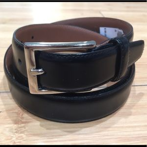 Brooks Brothers Black Belt Sz.42 Made In Italy